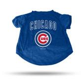 Chicago Cubs ROYAL PET T-SHIRT - MEDIUM