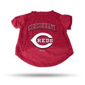 Cincinnati Reds RED PET T-SHIRT - SMALL