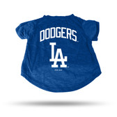 Los Angeles Dodgers ROYAL PET T-SHIRT - LARGE