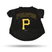 Pittsburgh Pirates BLACK PET T-SHIRT - LARGE