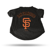 San Francisco Giants - SF BLACK PET T-SHIRT - LARGE