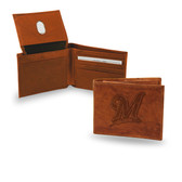 "Milwaukee Brewers 'M"" LOGO Embossed Billfold"