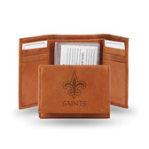 New Orleans Saints Embossed Trifold