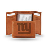 New York Giants Embossed Trifold