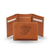 Oklahoma City Thunder Embossed Trifold