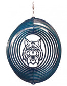 Arizona Wildcats Circle Swirly Metal Wind Spinner