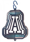 Arizona Wildcats Tini Swirly Metal Wind Spinner