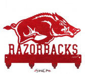 Arkansas Razorbacks Key Chain Holder Hanger