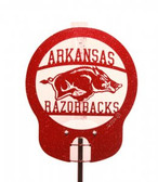 Arkansas Razorbacks Rain Gauge