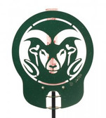 Colorado State Rams Rain Gauge