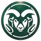 Colorado State Rams 24 Inch Scenic Art Wall Design