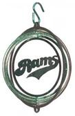 Colorado State Rams Tini Swirly Metal Wind Spinner