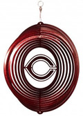 Concordia Cobbers Circle Swirly Metal Wind Spinner