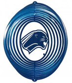 Eastern Illinois Panthers Circle Swirly Metal Wind Spinner