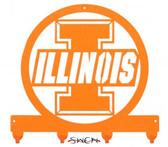 Illinois Fighting Illini Key Chain Holder Hanger