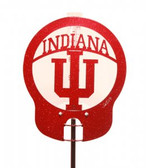 Indiana Hoosiers Rain Gauge