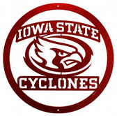 Iowa State Cyclones 24 Inch Scenic Art Wall Design