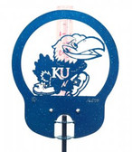 Kansas Jayhawks Rain Gauge