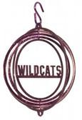 Kansas State Wildcats Tini Swirly Metal Wind Spinner