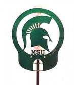 Michigan State Spartans Rain Gauge