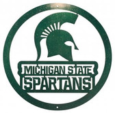 Michigan State Spartans 24 Inch Scenic Art Wall Design