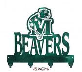 Minot State Beavers Key Chain Holder Hanger