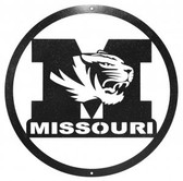 Missouri Tigers 24 Inch Scenic Art Wall Design