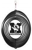 Missouri Tigers Circle Swirly Metal Wind Spinner