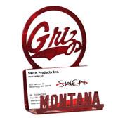 Montana Grizzlies Business Card Holder