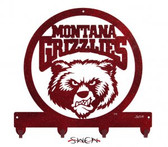 Montana Grizzlies Key Chain Holder Hanger