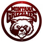 Montana Grizzlies 24 Inch Scenic Art Wall Design