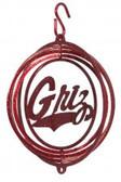 Montana Grizzlies Tini Swirly Metal Wind Spinner