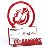 MSUM Dragons Business Card Holder