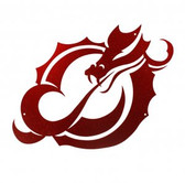 MSUM Dragons 24 Inch Scenic Art Wall Design
