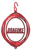 MSUM Dragons Tini Swirly Metal Wind Spinner
