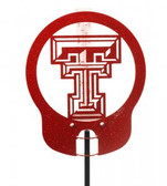 Texas Tech Red Raiders Rain Gauge