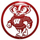 Wisconsin Badgers 24 Inch Scenic Art Wall Design