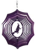 Witch Web Purple Wind Spinner