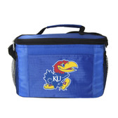Kansas Jayhawks Kolder Kooler Bag - 6pk - Blue