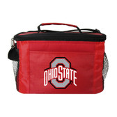 Ohio State Buckeyes Kolder Kooler Bag - 6pk - Red