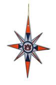 Auburn Tigers Snowflake Ornament