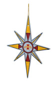 Iowa State Cyclones Snowflake Ornament