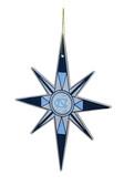 North Carolina Tar Heels Snowflake Ornament