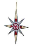 Oklahoma Sooners Snowflake Ornament