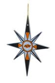 Oklahoma State Cowboys Snowflake Ornament