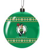 Boston Celtics 3in Sweater Ball Ornament