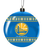 Golden State Warriors 3in Sweater Ball Ornament