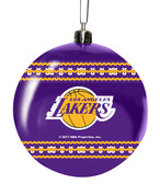 Los Angeles Lakers 3in Sweater Ball Ornament
