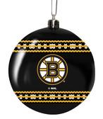 Boston Bruins 3in Sweater Ball Ornament