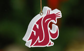 Washington State Cougars 3D Logo Ornament